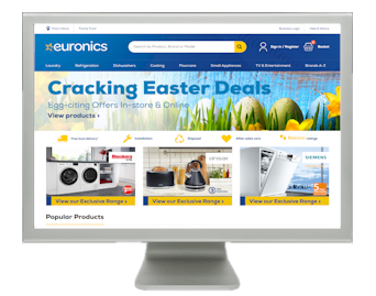 Euronics Website image
