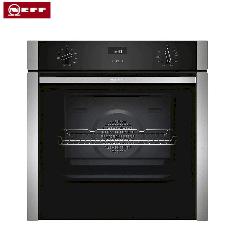 single ovens neff slide and hide built in single oven. Black Bedroom Furniture Sets. Home Design Ideas