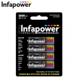 Infapower AA rechargeable B004